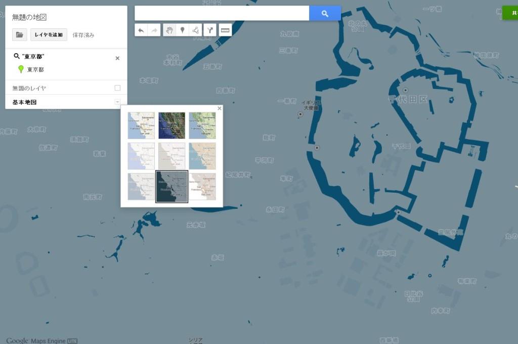 GoogleMap 独自の地図2