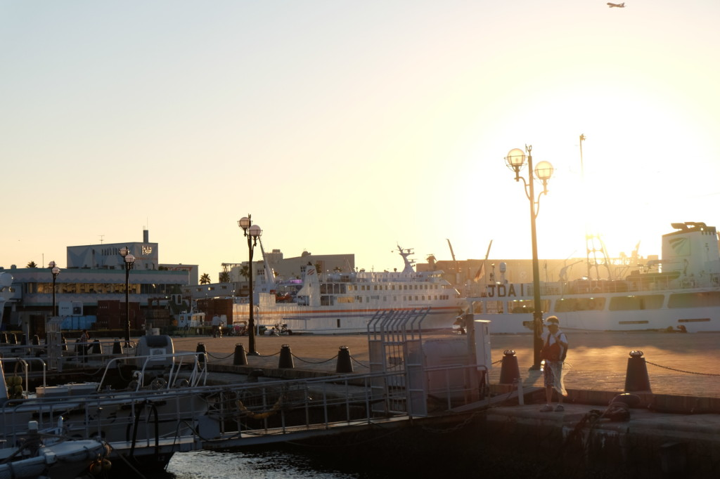 ベイサイドプレイス博多の夕日24