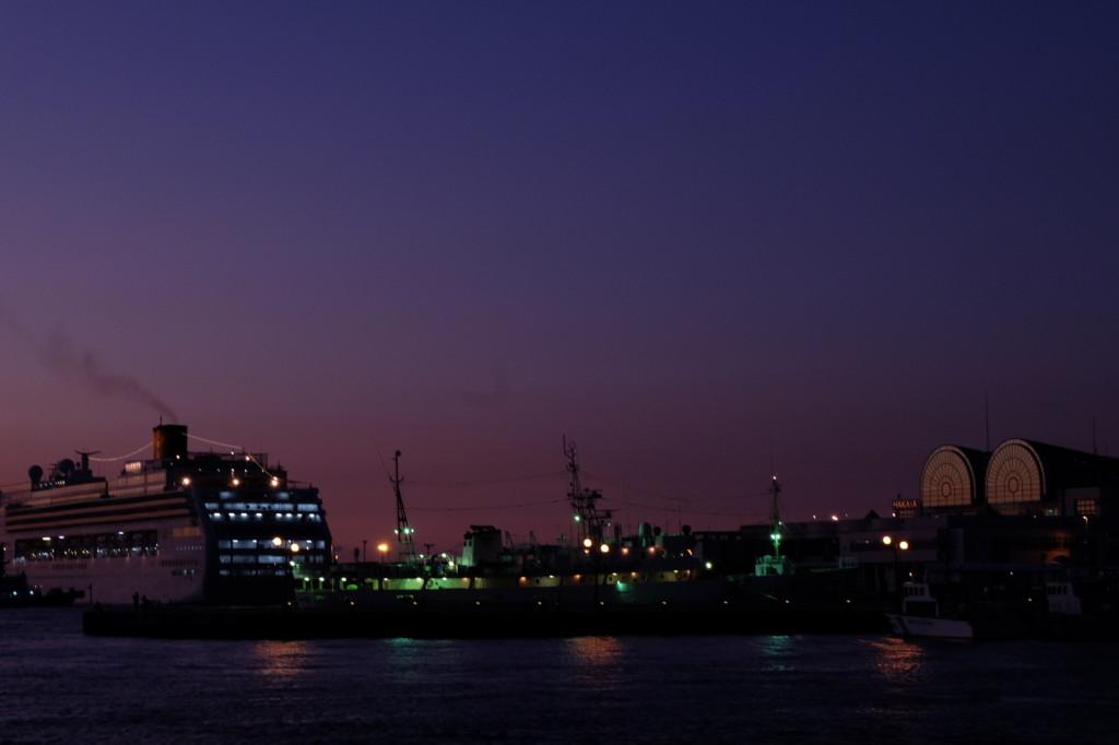 ベイサイドプレイス博多の夕日20