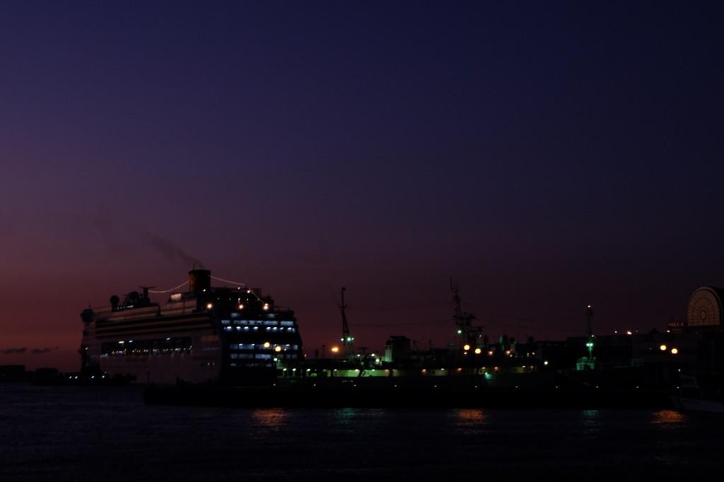 ベイサイドプレイス博多の夕日22