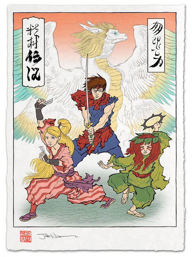 浮世絵 聖剣伝説