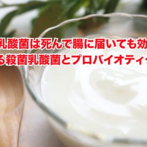 【ヨーグルト新常識】乳酸菌は死んで腸に届いても効果は同じ。注目高まる殺菌乳酸菌