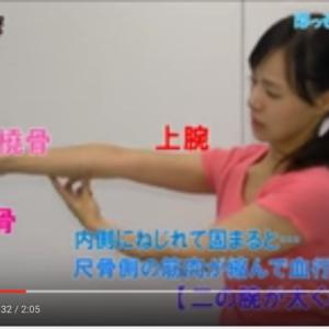二の腕を細くする方法とは?「ねじれ解消ストレッチ」が話題
