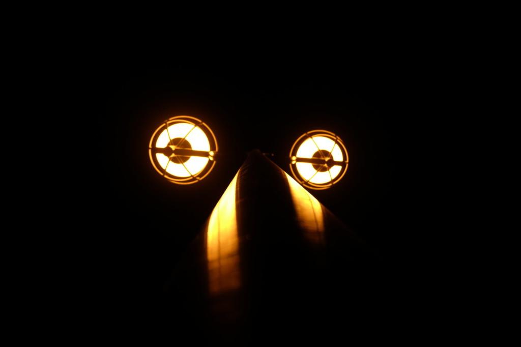 壁紙8街灯の顔