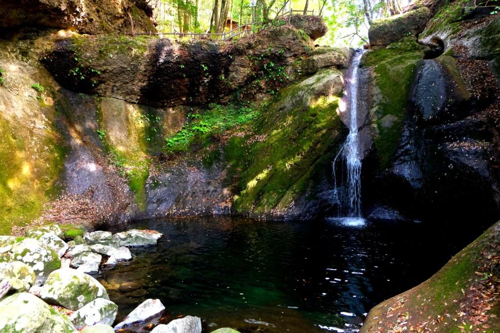 蛇渕キャンプ場の滝