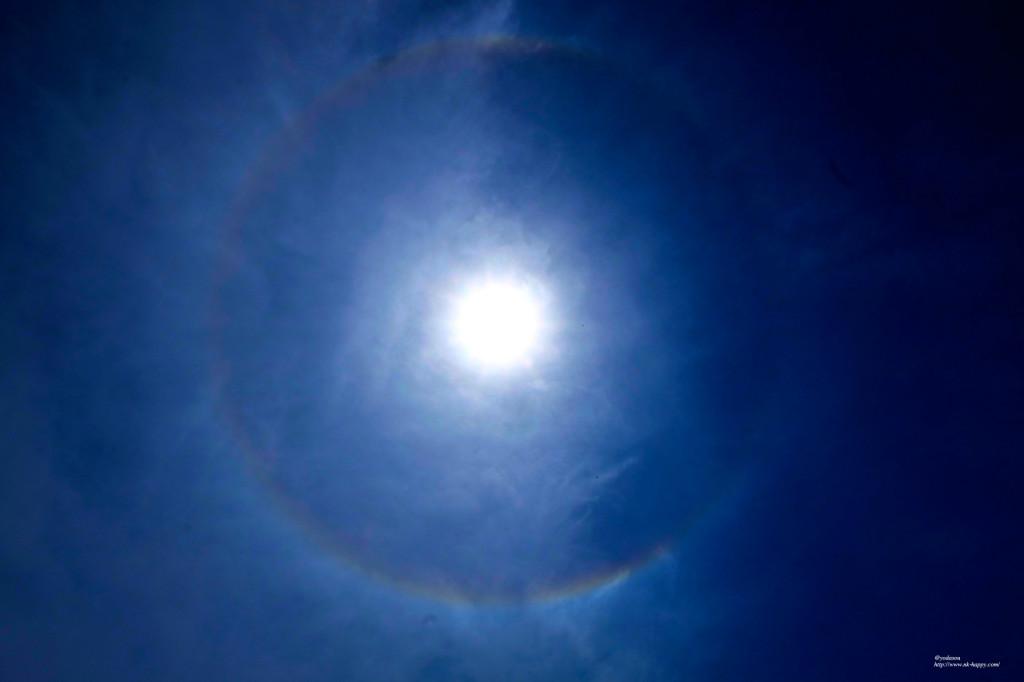 壁紙4太陽と虹