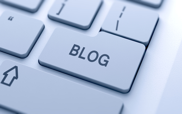 Blog sign button