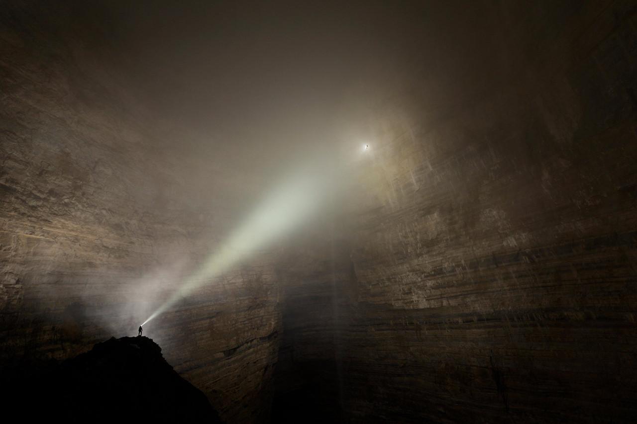 中国の重慶にある二王洞(Er Wang Dong)が壮大すぎて完全にファンタジーの世界