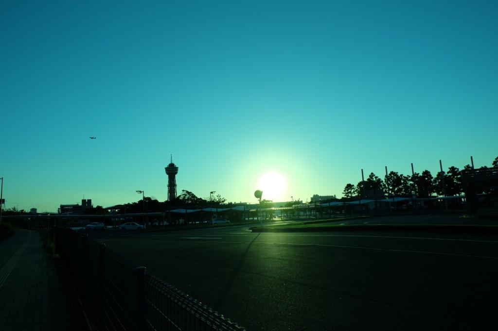ベイサイドプレイス博多の夕日38
