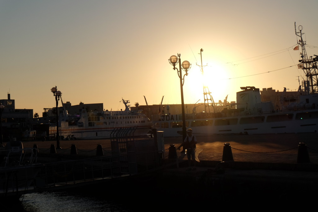 ベイサイドプレイス博多の夕日32