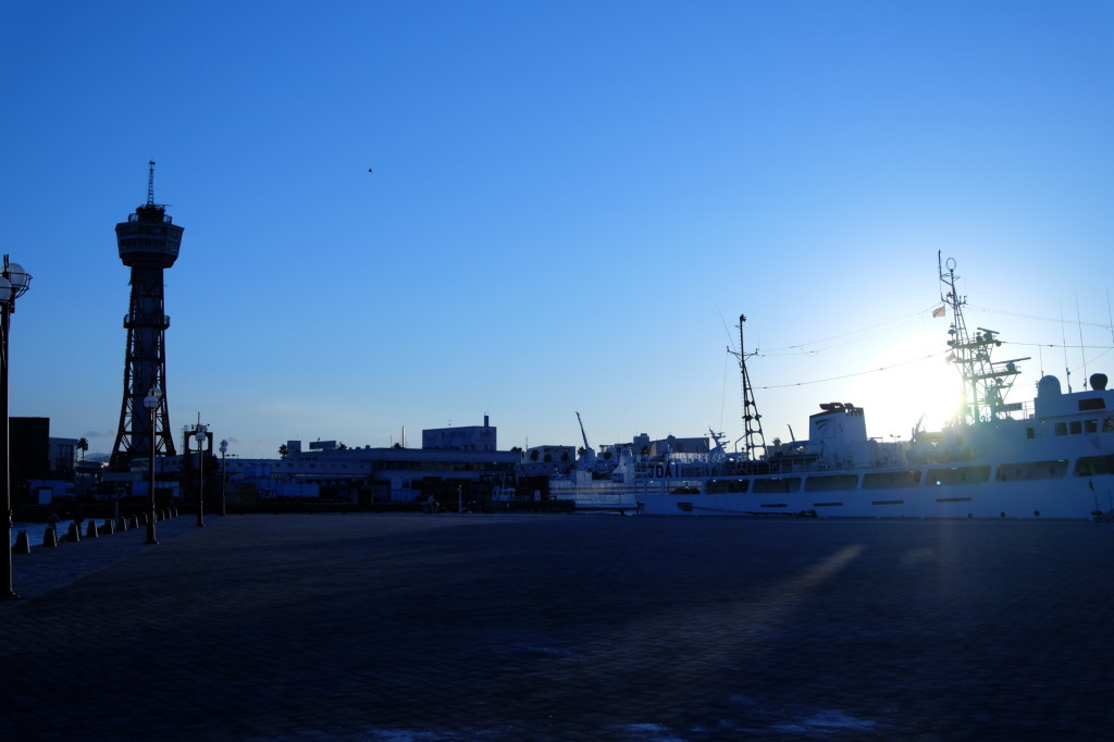ベイサイドプレイス博多の夕日31