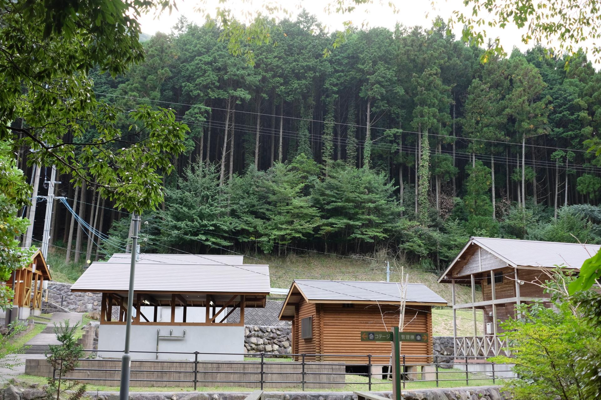 蛇渕キャンプ場が自然豊かでこの世の極楽(京都郡みやこ町犀川)