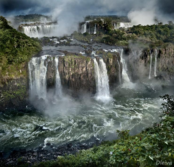アルゼンチン Iguazu Falls イグアスの滝