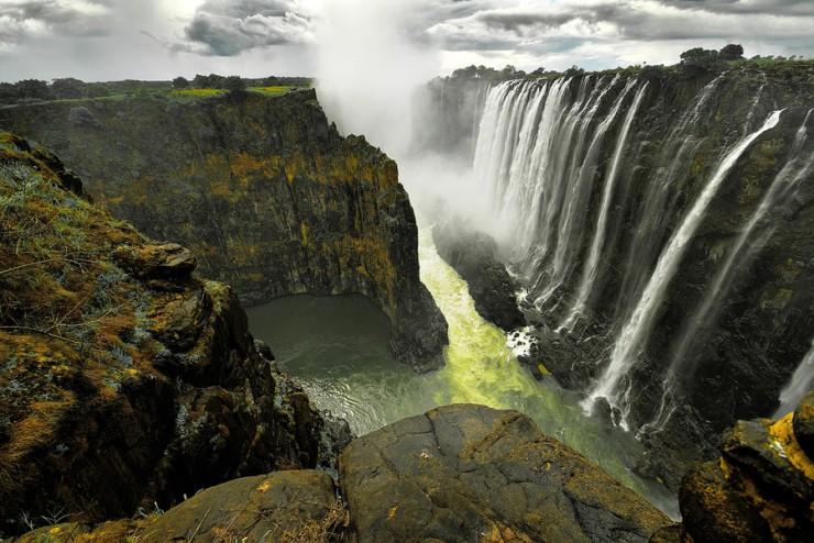 ジンバブエ共和国 Victoria Falls ビクトリアフォールズ