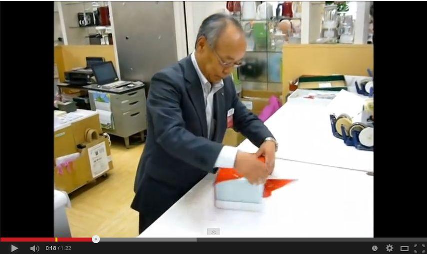 海外から絶賛!日本のギフトラッピングが凄いと話題になった動画