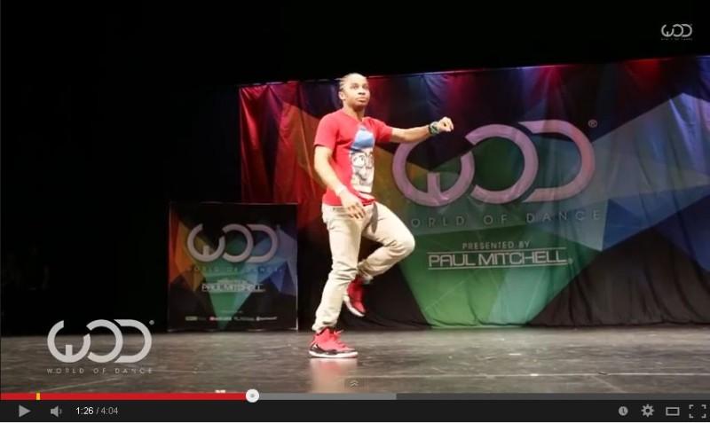 World of Dance Las Vegas 2014に出場したダンサーFik-Shunさんの動きwww
