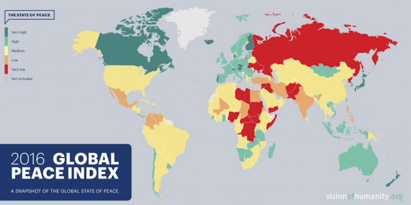 most-dangerous-countries-in-the-world-2016