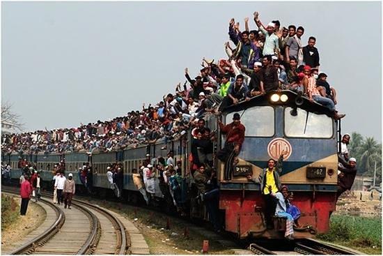 バングラディシュの人口密度がヤバイ!人口増加の理由とは