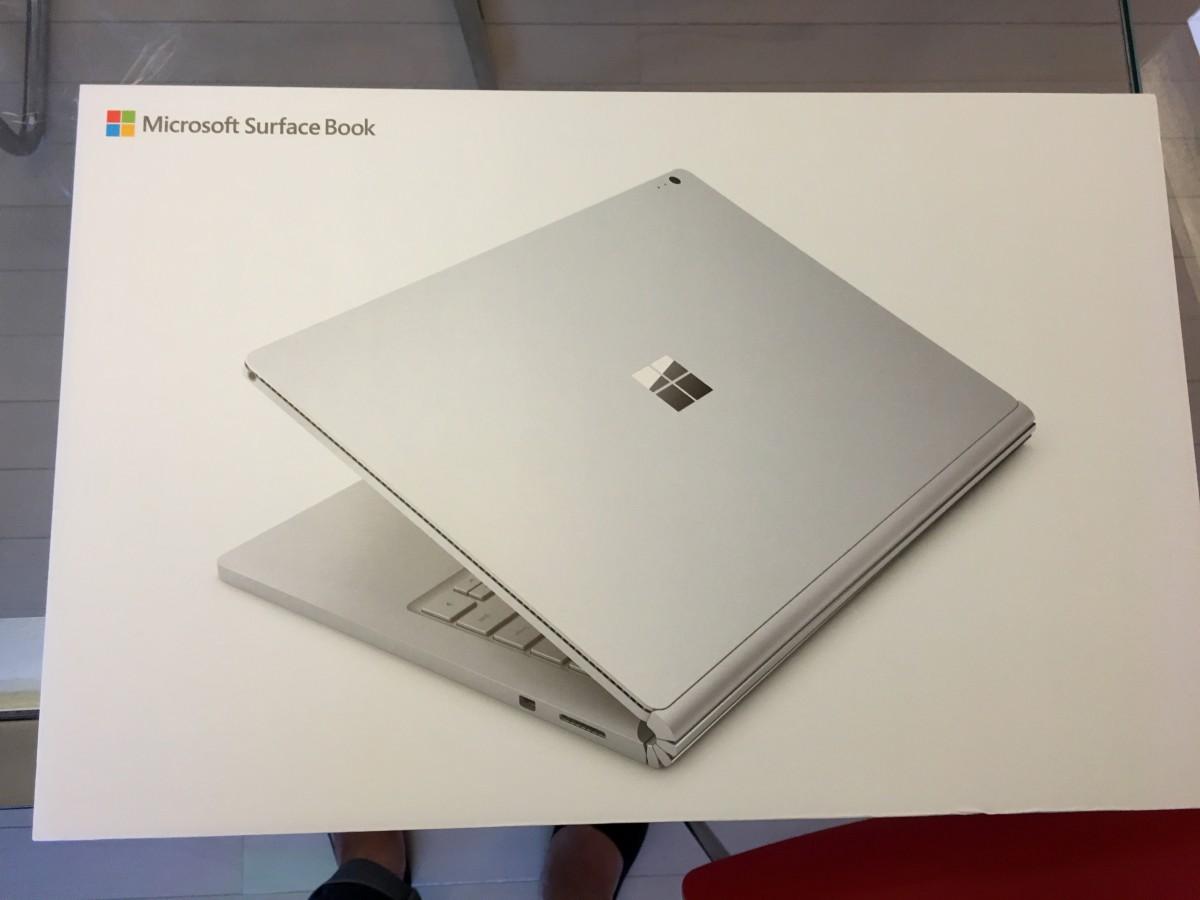 Surface book core i7 メモリ8GBを買ってみたのでレビュー